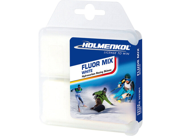 Holmenkol Fluormix White Base Wax 2x35g